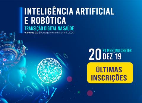 banner ultimas inscrições evento Inteligência Artificial e Robótica