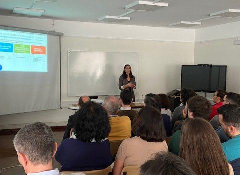 sessões de esclarecimento sobre Sistema de Gestão da Conciliação da Vida Profissional, Familiar e Pessoal na SPMS5