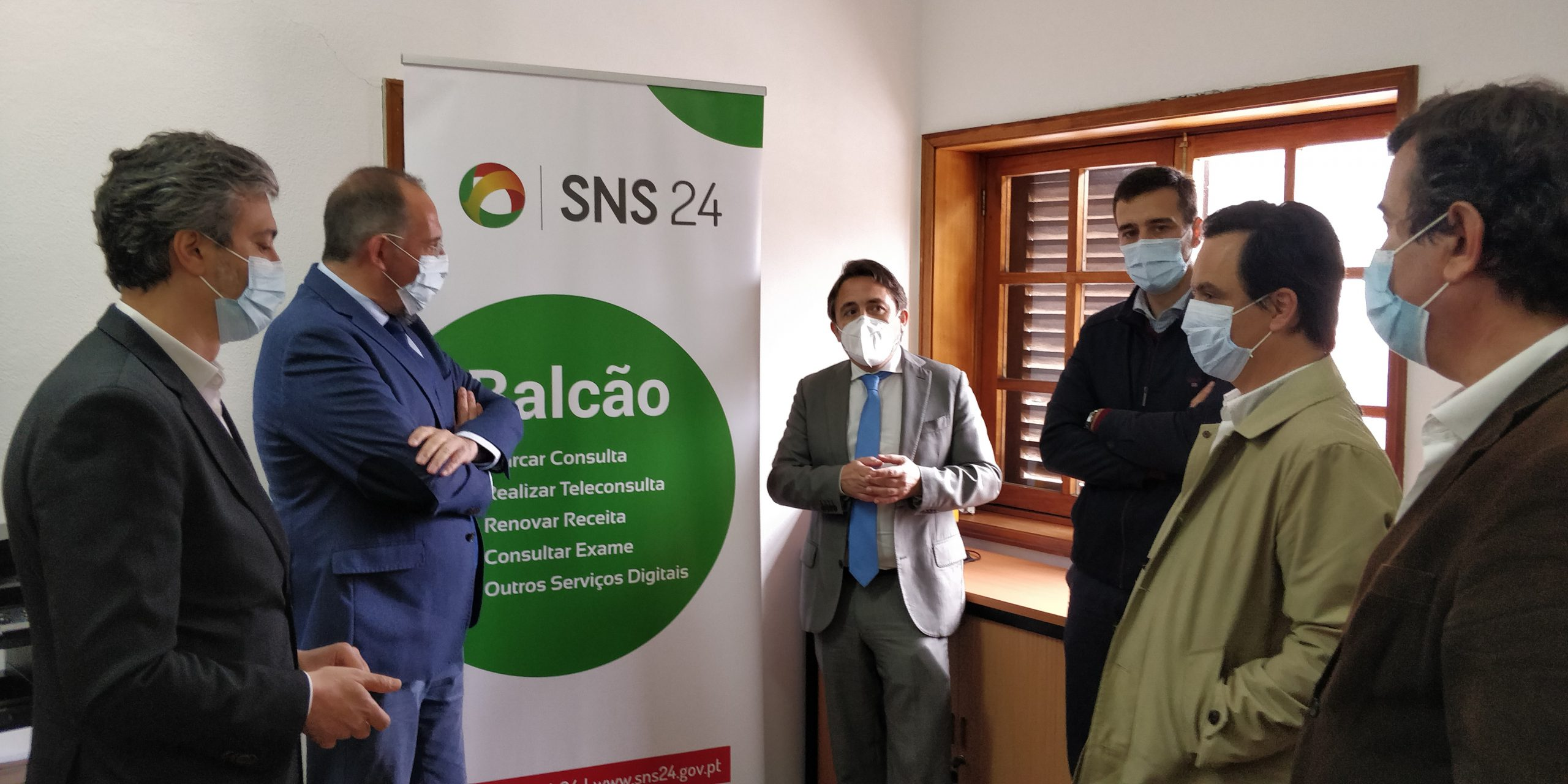 inauguração balcoes sns24regiao centro
