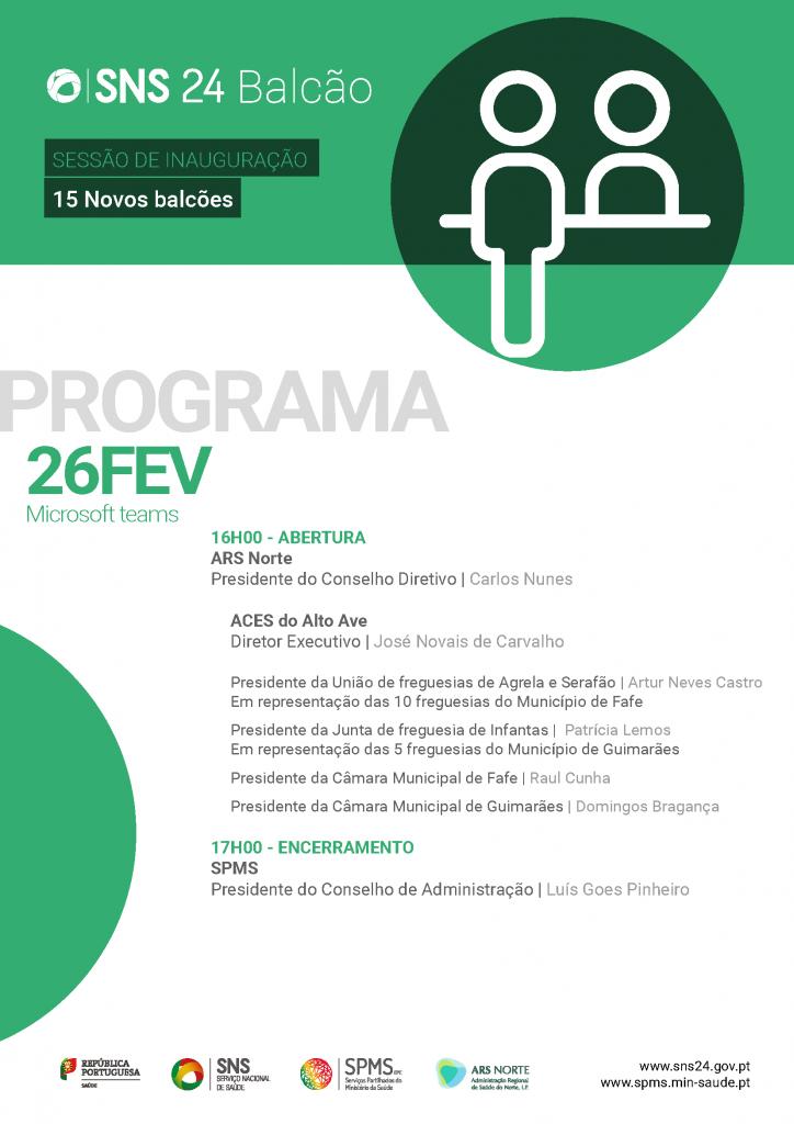 Programa SNS24 Balcao_26Fev