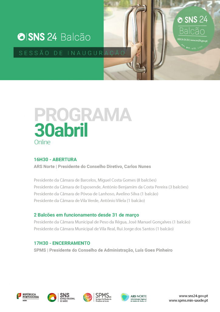 programa SNS24 Balcao-30abril